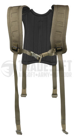 Templar's Gear 4 Point H-harness, Ranger Green
