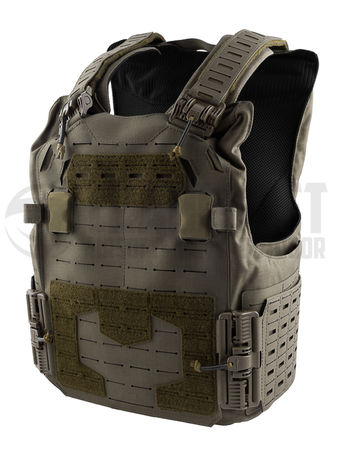 Templar's Gear Inquisitor Plate Carrier with ROC Attachment, Ranger Green