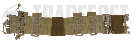 Templar's Gear Elastic Cummerbund with Pouches and PALS Matrices, ROC Attachment, Coyote Brown