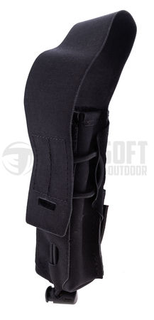 Templar's Gear Single Magazine Pouch for One SMG Mag Gen. 3, Black