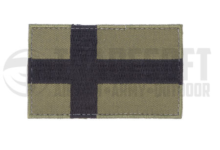 Tradesoft Finnish Flag Patch, Large, OD