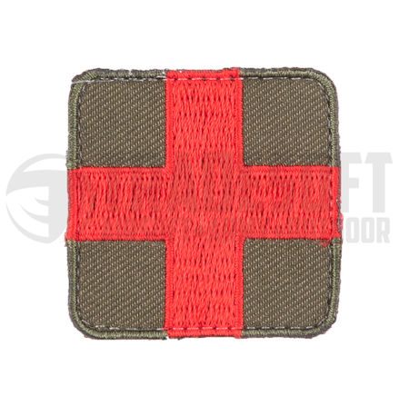 Tradesoft Medic/EMT Patch, Red and Green