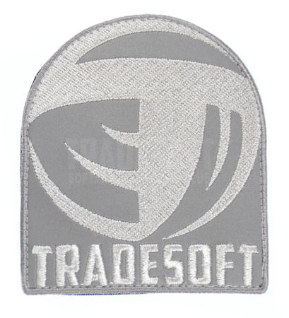 Tradesoft Reflective Patch, Grey