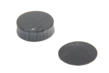 Sorbothane Damping Pad 70D with Protective Cover (6.35mm: 21mm)