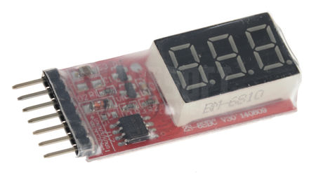 Tradesoft LiPo Meter for Monitoring Voltage Levels