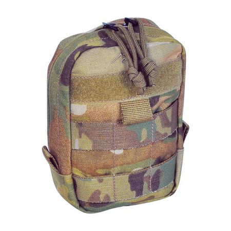Tasmanian Tiger Small Vertical Utility Pouch, Multicam (Tac Pouch 1)