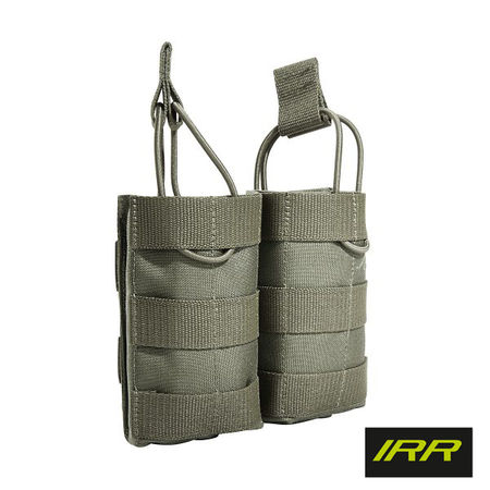Tasmanian Tiger Open-Top Double Magazine Pouch for Two M4/M16 Mags MKII, Stone Grey Olive IRR