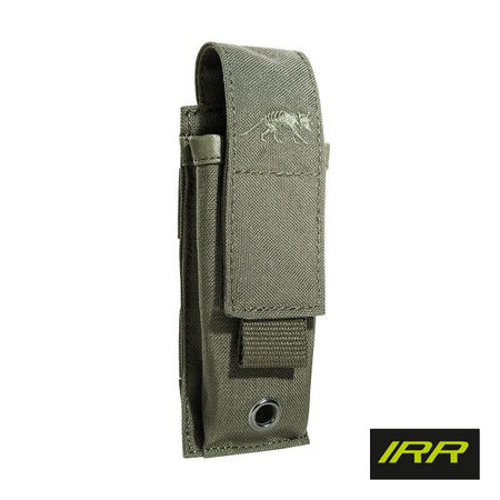 Tasmanian Tiger Single Magazine Pouch for One Pistol Mag, Stone Grey Olive IRR