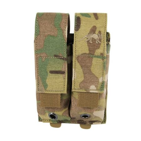 Tasmanian Tiger Double Magazine Pouch for Two Pistol Mags, Multicam