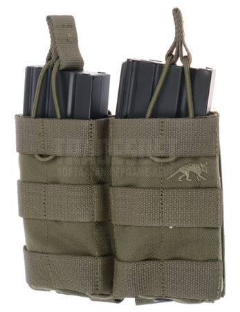 Tasmanian Tiger Open-Top Double Magazine Pouch for Two M4/M16 Mags MKII, OD