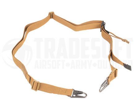 Tasmanian Tiger Two Point Sling with Quick-Adjustment, Coyote Brown
