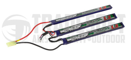 Turnigy Nano-tech 11.1V 1300mAh (25/50C) LiPo Crane Type Battery, Tamiya Mini Connector