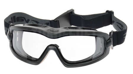 Valken Sierra Tactical Safety Goggles with Clear Dual Lens