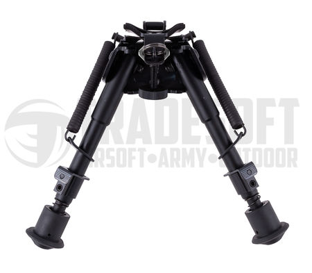 Vector Optics Harris Swivel Metal Bipod with RIS Mount, 6-9 Inches