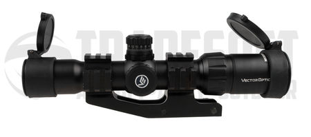 Vector Optics Mustang 1.5-4x30 Short Dot Scope