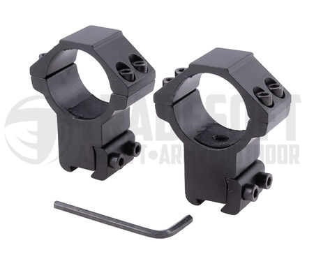 Vector Optics High Dovetail Scope Ring Mounts for 30mm Scopes (for 11mm Rails)