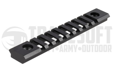 Vector Optics Aluminum KeyMod Rail Segment, Black (5 Inches)