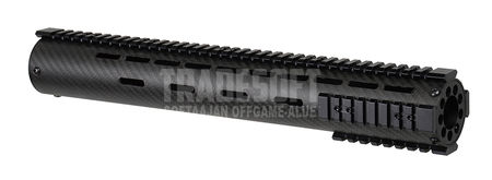 Vector Optics Carbon Fiber RAS Rail for M4/M16 Series, Black (15 Inches)