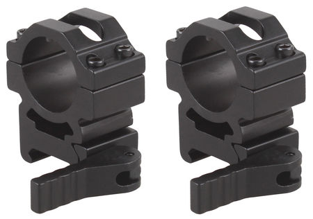 Vector Optics Medium QD Scope Ring Mounts, 25.4mm