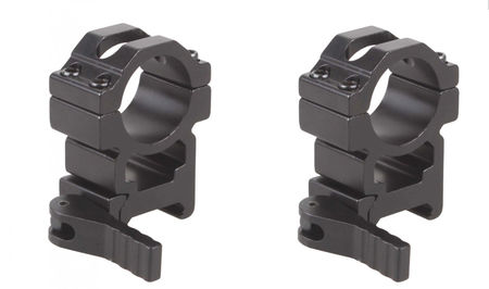 Vector Optics High QD Scope Ring Mounts, 25.4mm