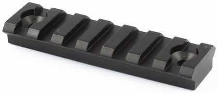 Vector Optics Aluminum KeyMod Rail Segment, Black (3 Inches)