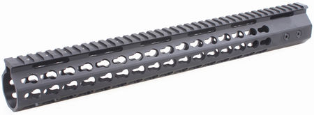 Vector Optics Aluminum KeyMod RAS Rail for M4/M16 Series, Black (15 Inches)