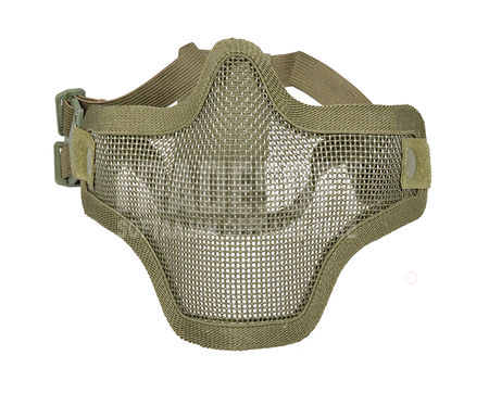 Emerson/Nuprol Defender Metal Mesh Lower Face Mask, Green