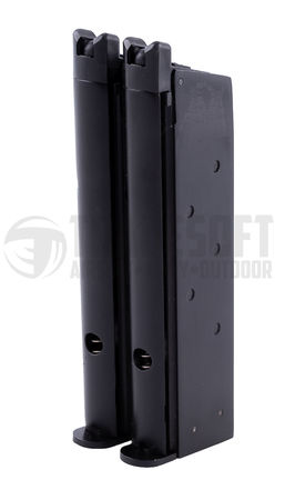 WE GBB Gas Pistol Magazine for Double Barrel M1911 (2 x 16 Rounds)