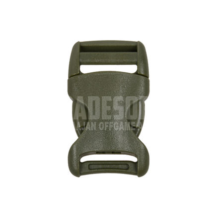 YKK Plastic Buckle 25mm, Green, 1 piece