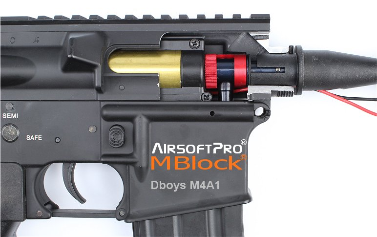 AirsoftPro MBlock Hop Up Chamber Set for M4/M16 Series