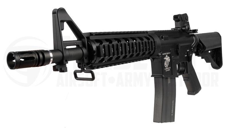 Specna Arms M933 RIS, Black (Full Metal), SA-B02 | Airsoft-kauppa Tradesoft - kuula-aseet