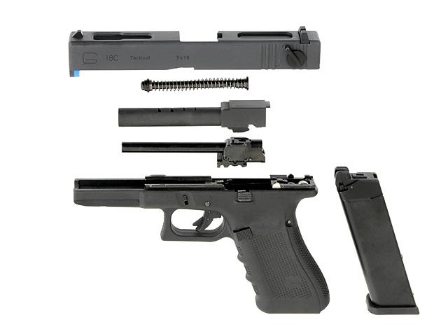 WE G Series 18C Gen. 4 GBB, Black | Airsoft-kauppa Tradesoft - kuula-aseet